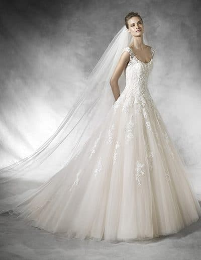 pronovias wedding dress BIA