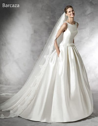 pronovias wedding dress BARCAZA