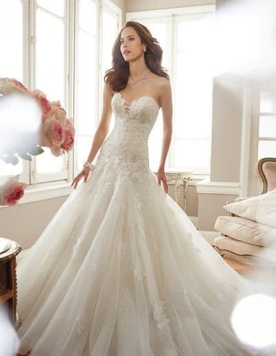 sophia tolli wedding dress Y11715