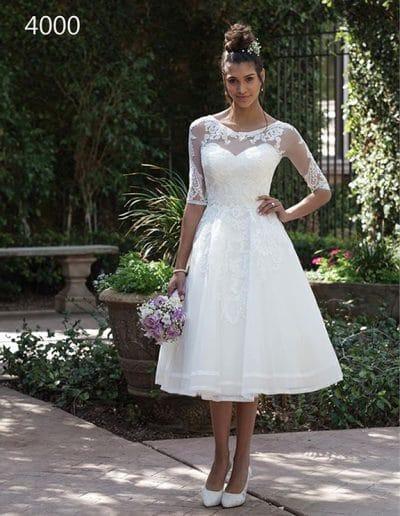 sincerity wedding dress 4000