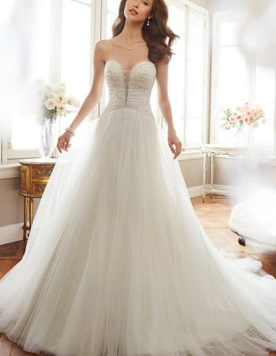sophia tolli wedding dress Y11703