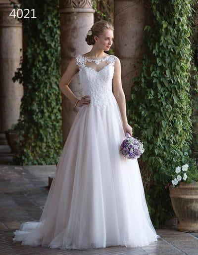 sweetheart wedding dress 4021