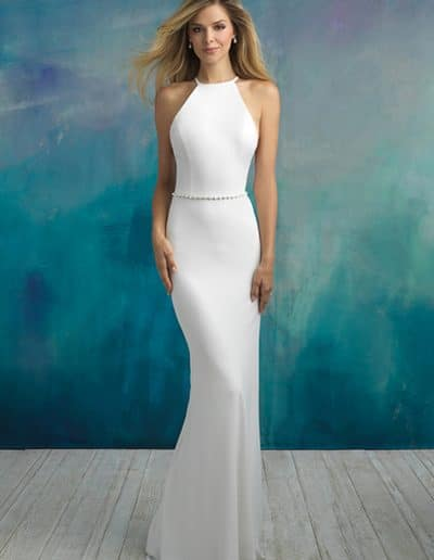 allure wedding dress 9521