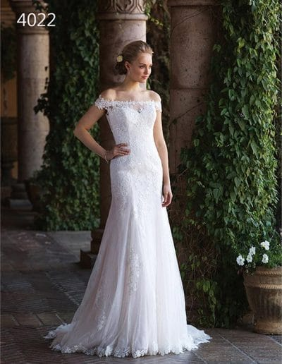 sweetheart wedding dress 4022