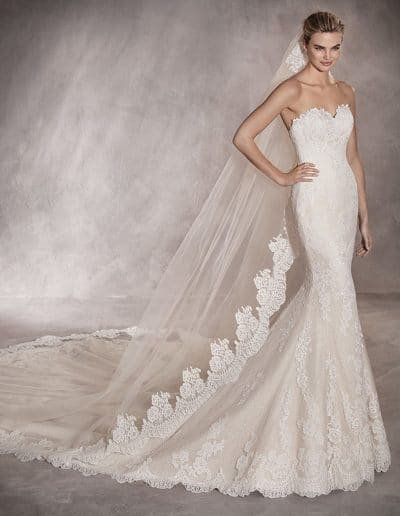 pronovias wedding dress PRINCIA