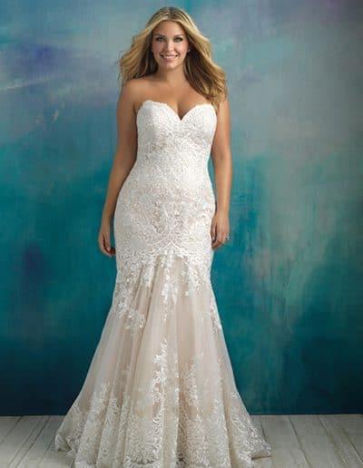allure bridal wedding dress W410