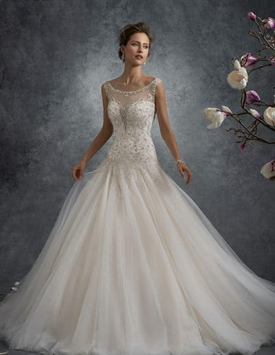 sophia tolli wedding dress Y21748