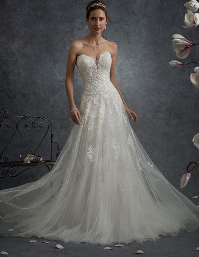 sophia tolli wedding dress Y21759