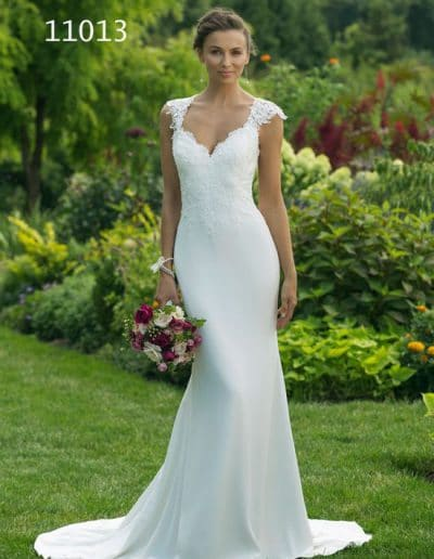 sweetheart wedding dress 11013