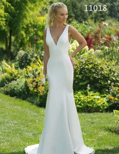 sweetheart wedding dress 11018