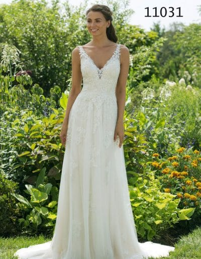 sweetheart wedding dress 11031