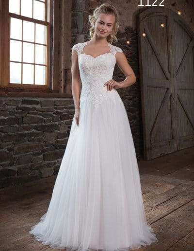 sweetheart wedding dress 1122