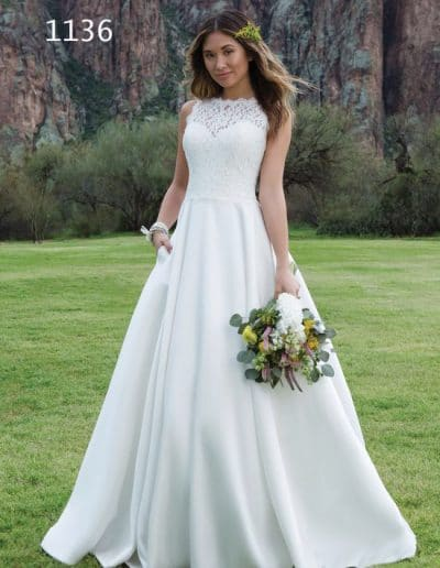 sweetheart wedding dress 1136