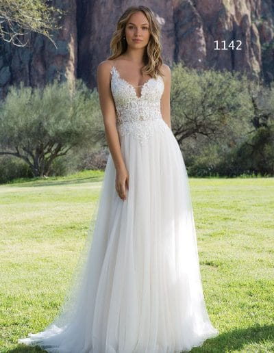 sweetheart wedding dress 1142
