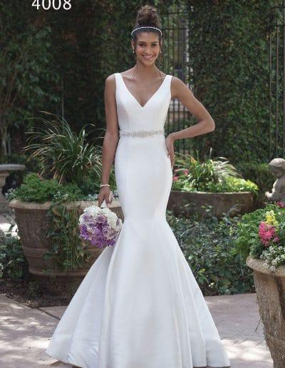 sweetheart wedding dress 4008
