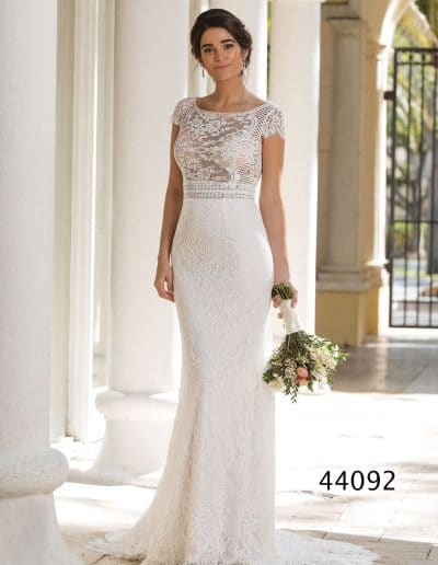 sincerity wedding dress 44092