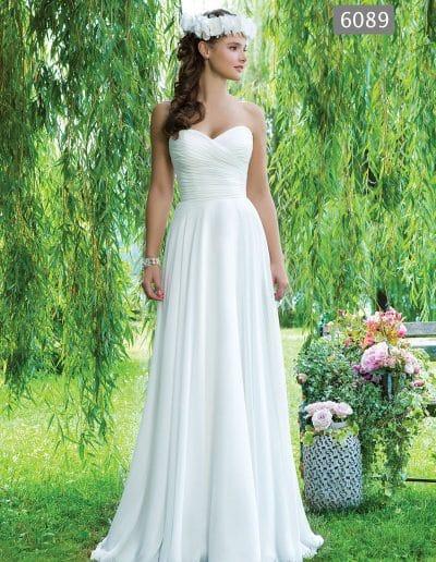 sweetheart wedding dress 6089