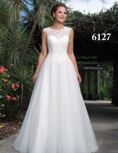 sweetheart wedding dress 6127