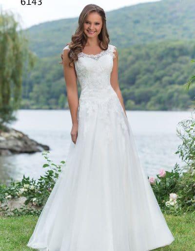 sweetheart wedding dress 6143