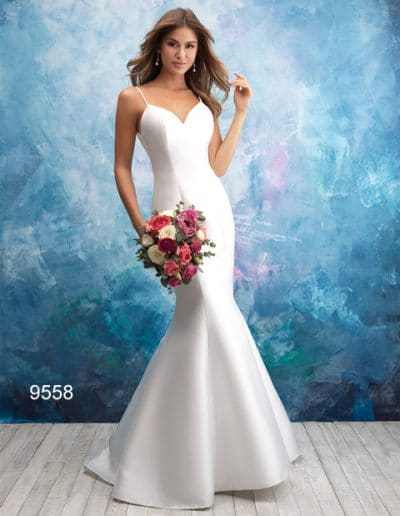 sweetheart wedding dress 9558