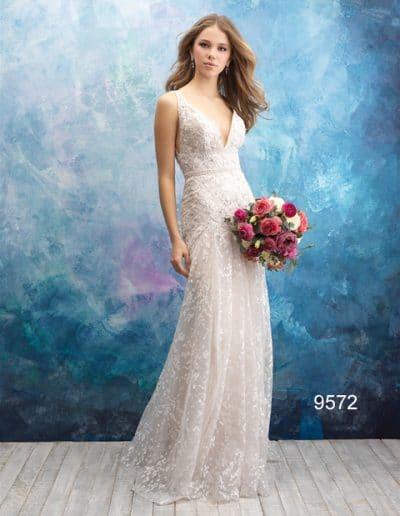 sweetheart wedding dress 9572