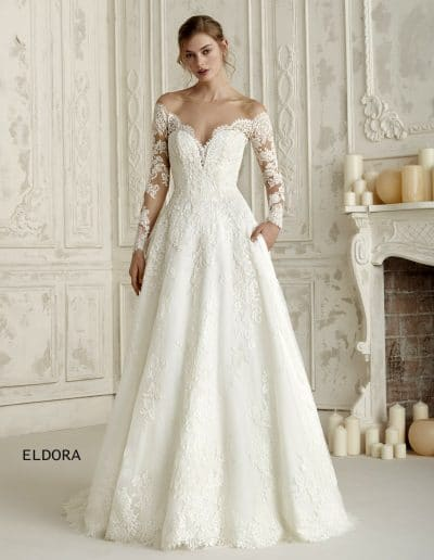 pronovias wedding dress ELDORA