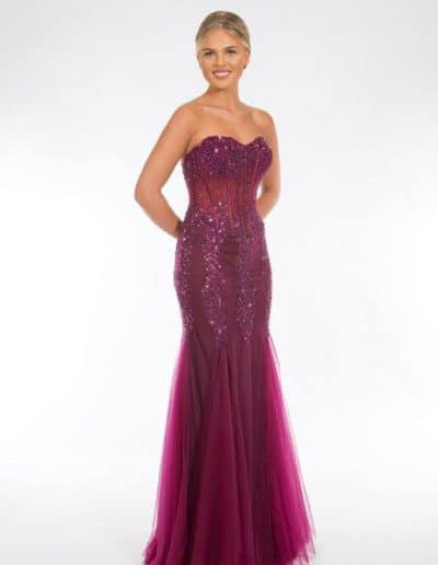 Purple Prom or Bridesmaid Dress
