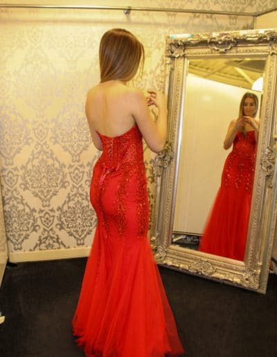 Red Prom or Bridesmaid Dress