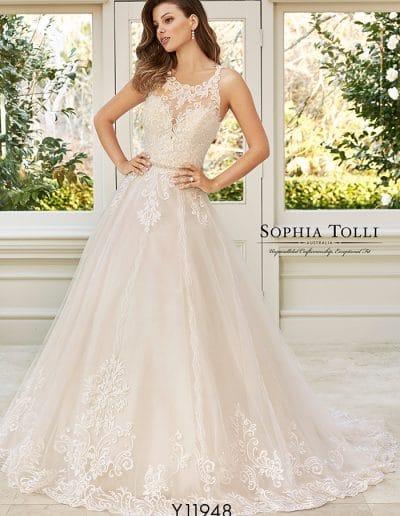 sophia tolli wedding dress y11948