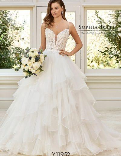 sophia tolli wedding dress y11952