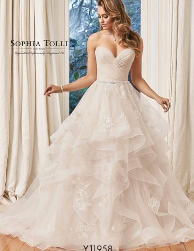 sophia tolli wedding dress y11958