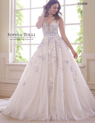 sophia tolli wedding dress Y21834A